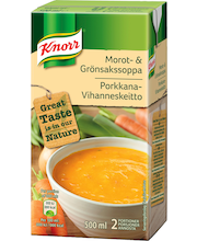 Knorr 500ml Porkkana-vihanneskeitto