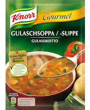 Knorr 79g Gulassikeitto keittoainekset