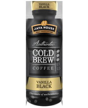 Java House Cold Brew Coffee Vanilla Black 300ml pullo