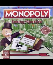 Monopoly 144g suklaapeli sis. 32 suklaata ja pelivälineet
