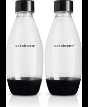 SodaStream Fuse juomapullo 2x0,5L musta