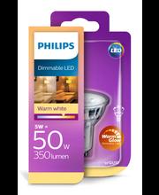 Philips LED spotti 5,5W GU10 warm glow