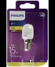 Philips LED jääkaappilamppu 1,7W E27