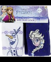 Frozen Lasten paksut sukkahousut 2-pak