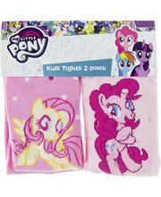 My little pony Lasten paksut sukkahousut 2-pak my little pony