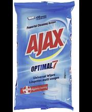 Ajax 50kpl Optimal 7 yleispuhdistusliinat