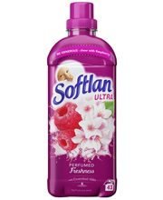 Softlan Perfumed Freshness Red Fruits and Jasmin huuhteluainetiiviste 650ml