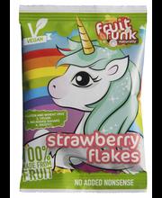 Fruitfunk Mansikkahiutaleet Unicorn pussi 16g