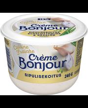 Crème Bonjour 240g Cuisine Fraiche Sipulisekoitus maustettu ranskankerma
