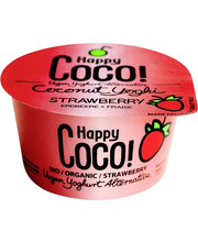 HAPPY COCO KOOKOSVÄLIPALA MANSIKKA 125 g