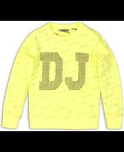 Dj Dutchjeans lasten neon collegepaita C34180