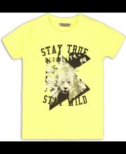 Dj Dutchjeans lasten neonkeltainen t-paita C34188