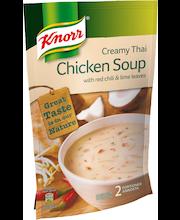 Knorr 570ml Thaimaalainen kanakeitto kookosmaidolla ja limetinlehdillä