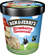 Ben & Jerry's 500ml Strawberry Cheesecake jäätelökotipakkaus