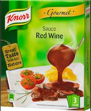 Knorr 3x2,5dl Punaviinikastike gourmet