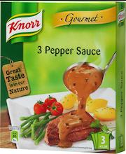 Knorr 3x3dl 3 Pippurikastike gourmet