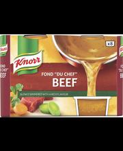 Knorr 8x28g Fond du Chef naudanliha-annosfondi
