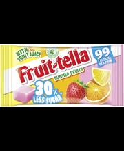 Fruittella Summer Fruits vähemmän sokeria hedelmätoffee 28g