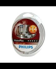 Autolamppu Philips H4 VisionPlus, 2 kpl