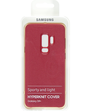 Samsung hyperknit cover s9+ red