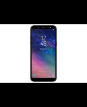 Samsung A6 Wallet Cover,musta