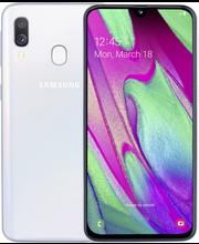 Samsung a40 valkoinen