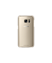 Samsung S7 Clear Cover kulta