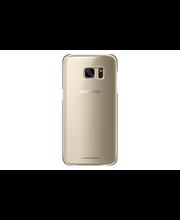 Samsung S7 E Clear Cover kulta