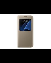 Samsung S7 E S-View Cover kulta