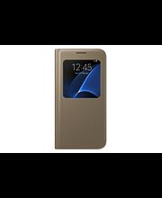 Samsung S7 S-View Cover kulta