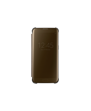 Samsung S7 E Clear View Cover kulta