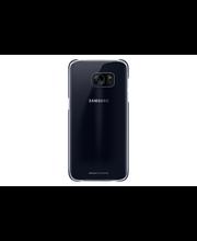 Samsung S7 E Clear Cover musta