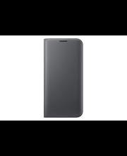 Samsung S7 E FLIP Wallet musta