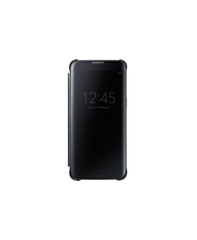 Samsung S7 E Clear View Cover musta