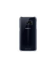 Samsung S7 Clear Cover musta