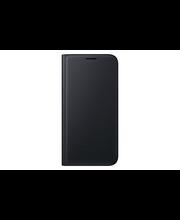 Samsung S7 FLIP Wallet musta