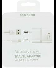 Samsung pikalaturi USB-C -kaapelilla