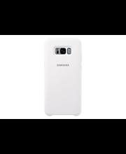 Samsung s8+silicone valkoinen