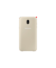 Samsung Galaxy J5 (2017) Dual Layer Cover kulta