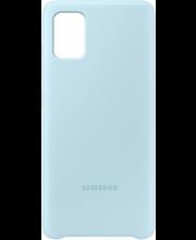 Suoja Galaxy A51 Silicone Cover sininen