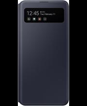 Suoja Galaxy A41 S View Wallet musta