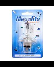 Megalite autolamppu H4 12V-60/55W+30%