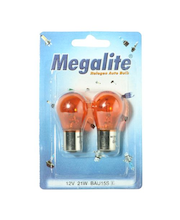 Megalite autolamppu 12496 12V21W oranssi