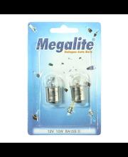 Megalite autolamppu 12814 12V-10W  2 kpl