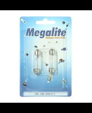 Megalite autolamppu 12844 12V-5W  2 kpl