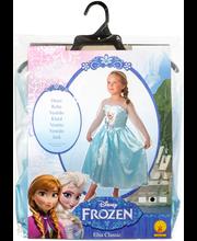 Frozen Elsa lumikuningatarpuku, koko 128