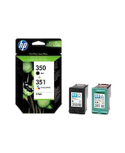 HP 350/351 väripatruunoiden yhdistelmäpakkaus