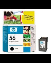 HP 56 musta väripatruuna