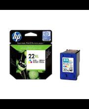 HP 22XL kolmivärimustepatruuna