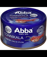 Abba 80g chili ja valkosipuli tonnikala